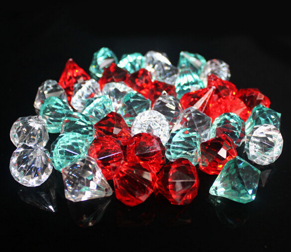 Acrylic Crystal Beads