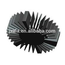 Hot sale Efficiency round led aluminum extruded LED heat sink/LED radiator