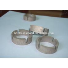 Segmentos de cuernos de diamante para granito, mármol, taladro de núcleo de hormigón