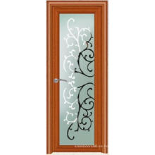 Diseño popular al por mayor de la puerta del PVC de China Popular