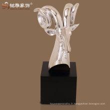 Figurine de décoration décorative antilope décoration de haute qualité avec matériau polyrésin