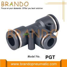 Raccords enfichables de réducteur pneumatique PGT Union Tee