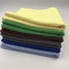 Microfiber Warp Knitting Cleaning Cloth 300gsm Towel