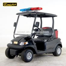 Carro de golf eléctrico del club de China del carrito de golf eléctrico EXCAR de 2 plazas con el extintor