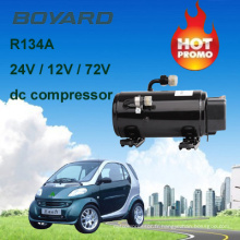 Pièces de véhicules récréatifs r134a moteur électrique AC kompressor 72v kfb135z72 pour Geely électrique automobile voiture air conditionné