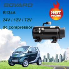 Peças recreativas do veículo r134a AC motor elétrico kompressor 72v kfb135z72 para Geely carro elétrico automóvel condicionador de ar