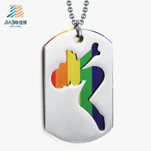 Hot Products Steel Paint Sexy Girl Custom Wholesale Dog Tag