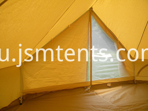 Canvas Bell tents with Zipped Groundsheet