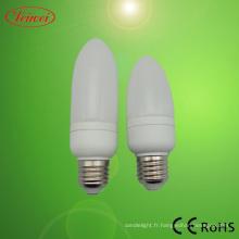 Bougie LED lampe économiseuse d'énergie