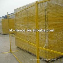 Panneaux de clôture temporaire de Dimeter de 50mm x 50mm de taille de 4,0mm