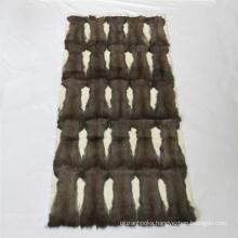 China factory wholesale vair plate vair pelts grey squirrel skin pelts