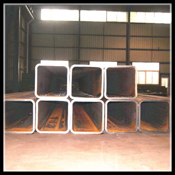 ERW Black Square Pipe / Tube / Welded Rectangular Pipe