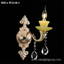 chandelier candle wall sconce crystal lighting