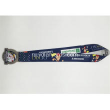 Newest Dye Sublimated Custom Logo Medal Lanyard