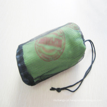 toalha de praia redonda de alta qualidade com borlas draw-string bag