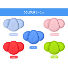 Children Elephant Shape Plate Silicone Dish