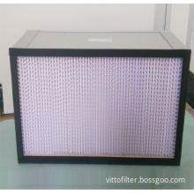 HEPA Air Filter With Wooden Frame