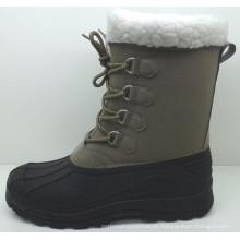 Botas de nieve / zapatos de inyección de alta calidad (SNOW-190024)