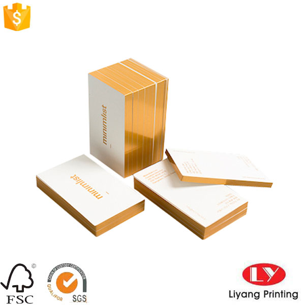 hot foil thick business card