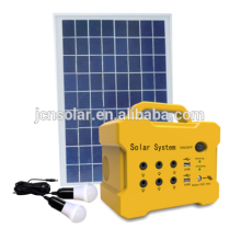 10w solar mini lights system with mp3 and FM
