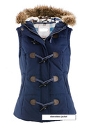 Women down jacket without sleeve