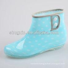 women lightweight dragonfly brown pink rain boots