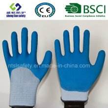 Foam Latex 3/4 Coated Gardening Safety Gloves