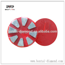 80mm redi lock concrete grinding disc for Terrco grinding machine
