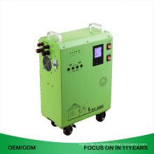Мощность 6.5 КВт / Ч Портативный Солнечный Генератор С Системой Управления Батареи