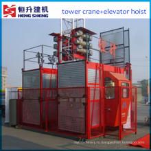 Строительство лифта для продажи (конструкции sc200), предлагаемых Hstowercrane