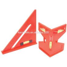 2 Piece Post Level e nível de espírito triângulo Set