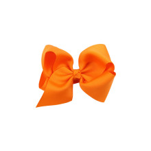 decorative washable satin orange ribbon bow