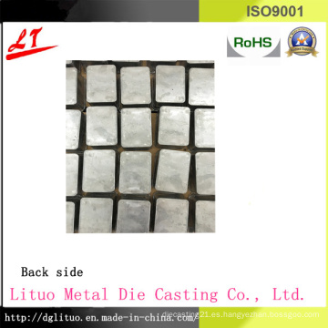 Common Usado Hardware Aleación de aluminio Die Casting LED de iluminación de base