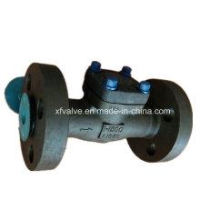 API602 1500lb 2500lb válvula de retención de pistón de extremo de acero forjado