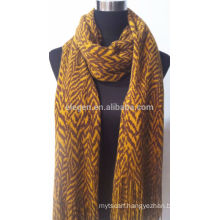 100% ACRYLIC KNITTED LONG SCARF