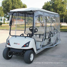 Golf Cart 6 Sitz Mini Elektro Shuttle Wagen im Hotel (DG-C6)
