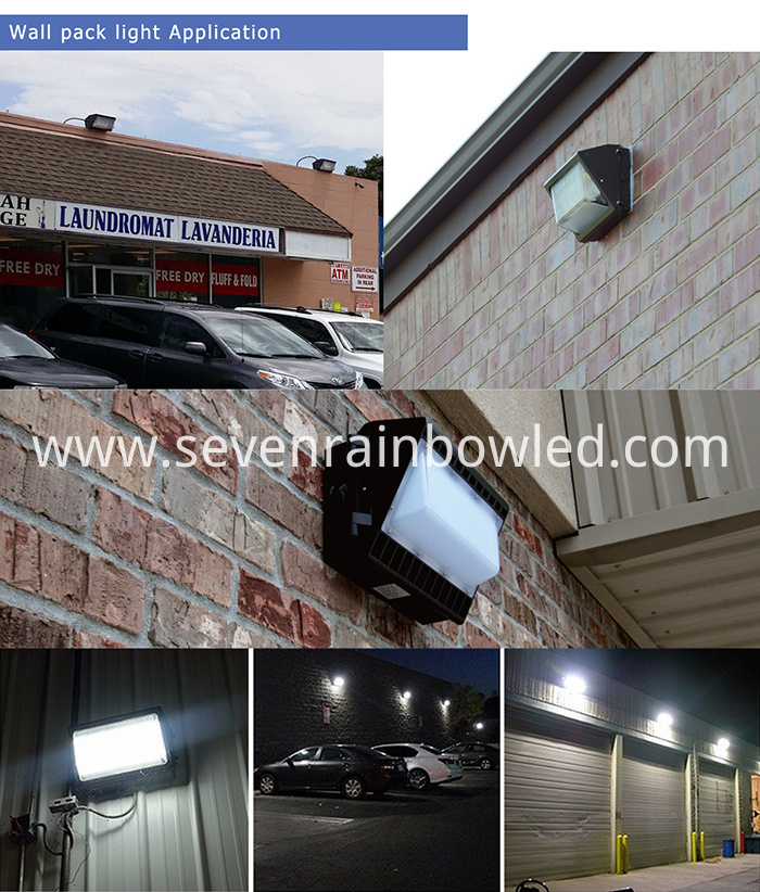 Outdoor Application Of 60W Led Wall Pack Lights