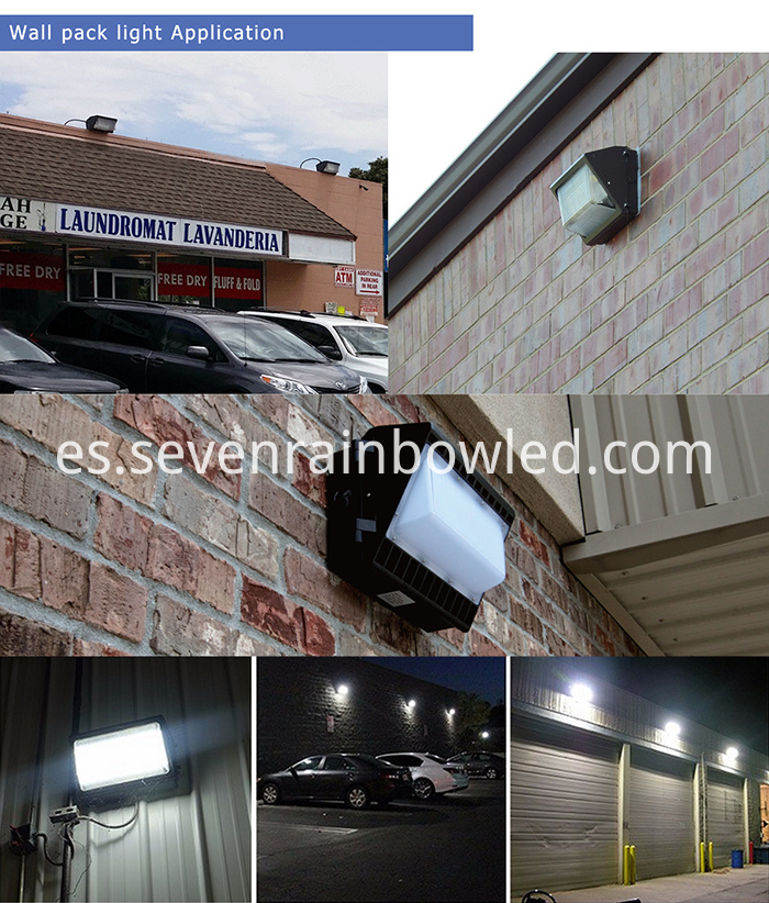 60W Led Wall Pack Light Fixtures Outdoor Use