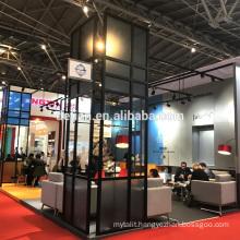 Detian Offer Creative portable modular exhibition booth 20x20 for trade fair