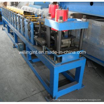 Machine de formage de rouleaux de panne en acier en forme de C automatique