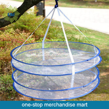 Double Layers Polyester Mesh Drying Basket
