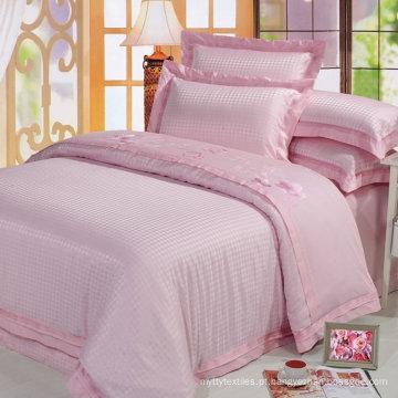 100% algodão jacquard estilo tecido 300tc 60x40 / 173x120 design quente cetim