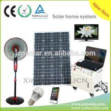 Kit de iluminação solar portátil Kit de energia solar para uso doméstico