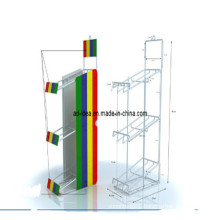 Metal Display Rack, Metal Flooring Display Stand, Metal Rack (AD-130509)