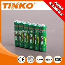 OEM R03 AAA pesados bateria 4pcs/psiquiatra 60pcs/caixa