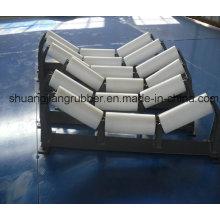 Rodillo de nylon de alta calidad del transportador de correa de la calidad