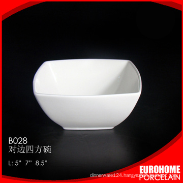 bulk buy from china porcelain dinnerware white salad bowl