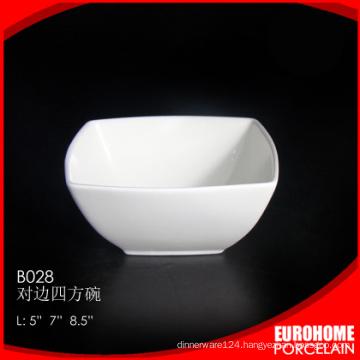 bulk buy from china porcelain dinnerware white salad bowl