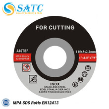 disque de coupe pour le marché de l'Asie du Sud-Est pour couper l'acier allié