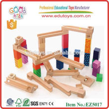 55 piezas de madera de mármol ejecutar juego
